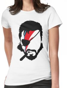 Big Bowie Womens Fitted T-Shirt