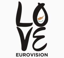 LOVE Eurovision [Cyprus] Kids Tee