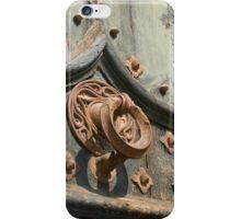 Time-worn door knocker 1 iPhone Case/Skin