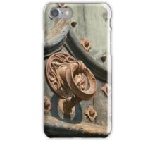 Time-worn door knocker 1 iPhone Case/Skin