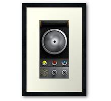 Star Trek Comunicator Framed Print