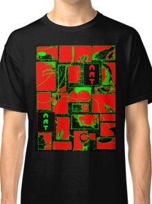 Granny's Things ART in Red Black and Green Classic T-Shirt