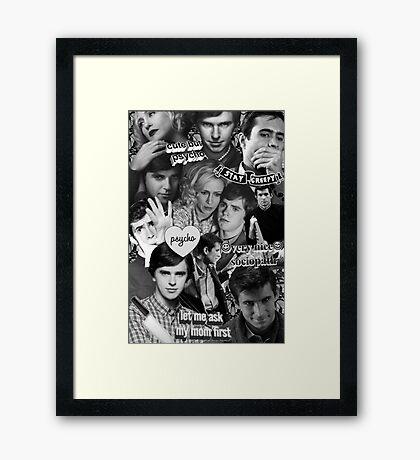 Bae Motel Framed Print