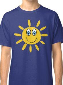 Sun Smiley  Classic T-Shirt