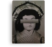 Doll Collage Canvas Print