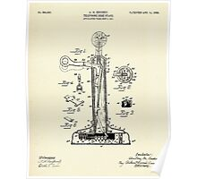 Telephone Desk Stand-1908 Poster