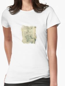 For the ones who had a notion Womens Fitted T-Shirt