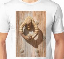 Time-worn door knocker 3 Unisex T-Shirt