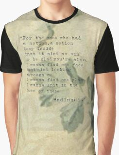 For the ones who had a notion Graphic T-Shirt