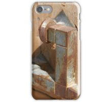 Time-worn door knocker 4 iPhone Case/Skin