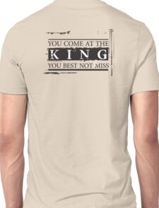 """""""You Come at the King, You Best Not Miss"""" - The Wire (Dark) Unisex T-Shirt"""