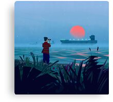 Shipspotting Canvas Print