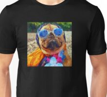 Cool Pug Painting Unisex T-Shirt