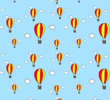 Hot air balloon ride Sticker