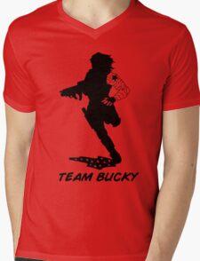 Team Bucky Mens V-Neck T-Shirt