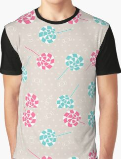 Sweet candy, lollipops pattern Graphic T-Shirt