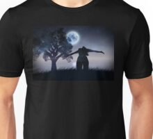 Lonely Night Landscape Unisex T-Shirt