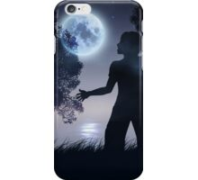 Lonely Night Landscape 2 iPhone Case/Skin