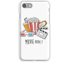 Movie Addict iPhone Case/Skin