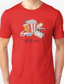 Movie Addict Unisex T-Shirt