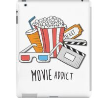 Movie Addict iPad Case/Skin
