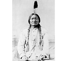 Sioux Chief Sitting Bull Photographic Print