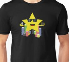 lucky star with poker chips Unisex T-Shirt