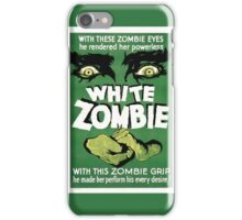 White zombie - the movie iPhone Case/Skin