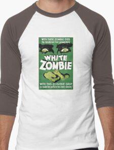 White zombie - the movie Men's Baseball ¾ T-Shirt