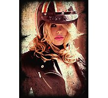 VINTAGE POSTER : SEXY RIDER Photographic Print