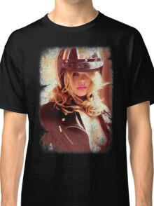 VINTAGE POSTER : SEXY RIDER Classic T-Shirt