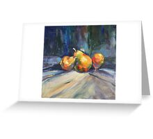Fresh produce Greeting Card