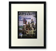 VINTAGE POSTER : CIVIL WAR Framed Print
