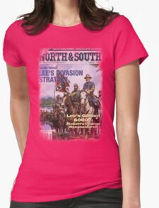 VINTAGE POSTER : CIVIL WAR Womens Fitted T-Shirt