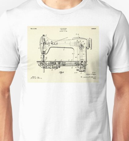 Sewing Machine-1946 Unisex T-Shirt