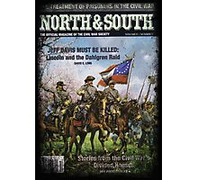 VINTAGE POSTER : CIVIL WAR NORTH & SOUTH Photographic Print