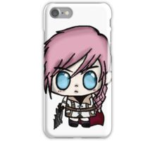 Chibi Lightning Final Fantasy 13 iPhone Case/Skin