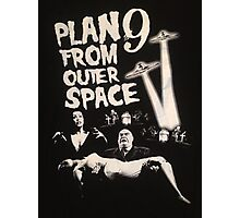 Plan 9 from outer space - the movie Photographic Print