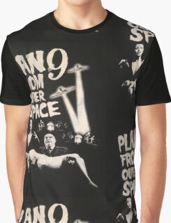 Plan 9 from outer space - the movie Graphic T-Shirt