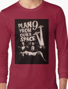 Plan 9 from outer space - the movie Long Sleeve T-Shirt