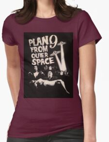 Plan 9 from outer space - the movie Womens Fitted T-Shirt