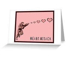 Master Chief Heart Attack Greeting Card