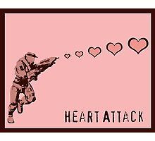 Master Chief Heart Attack Photographic Print
