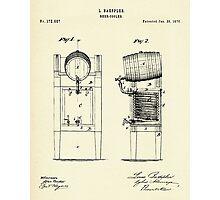 Beer Cooler-1876 Photographic Print