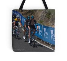Chris Froome, 2016 Jayco Herald Sun Tour, stage 4 Arthur's Seat Tote Bag