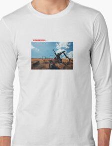 Travis Scott Wonderful Long Sleeve T-Shirt