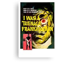 I was a teenage frankenstein - the movie Canvas Print