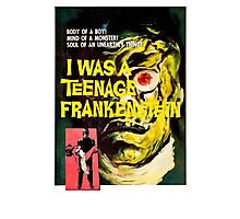 I was a teenage frankenstein - the movie Photographic Print