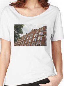 Admiring London's Victorian Architecture - Crawford Street, Marylebone Women's Relaxed Fit T-Shirt