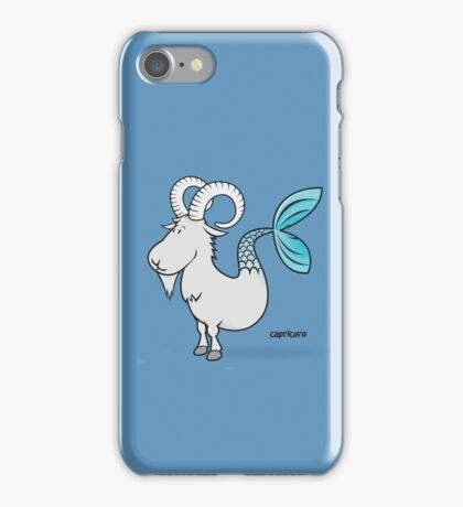 funny zodiac/capricorn iPhone Case/Skin